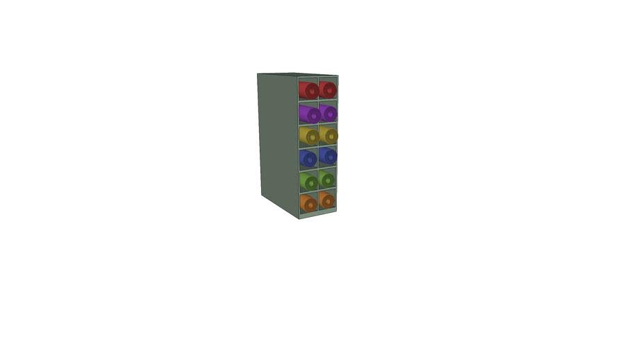 mat rack