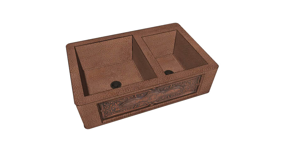 """Farm Sink from Home Depot (33.5"""" x 22.125"""" x 9"""")"""