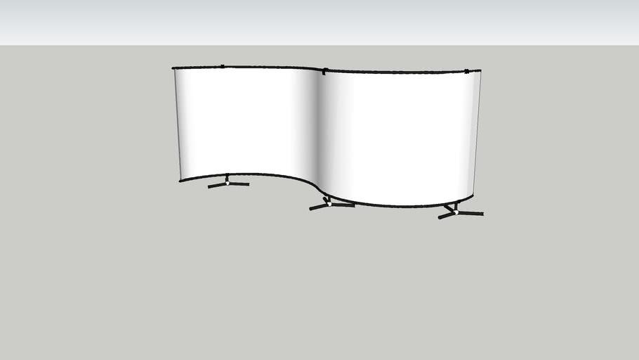 Maxibit Stage 6x2 s-shaped (tripod feet)