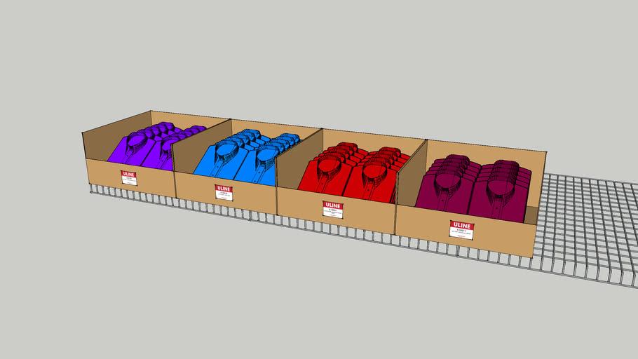 Uline S-Freebie_Box of Shirts