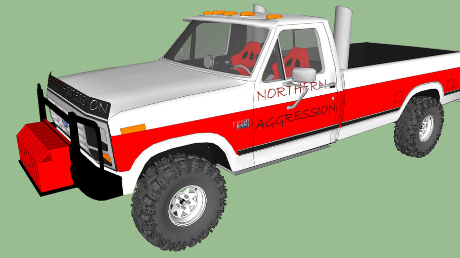 NORTHERN AGGRESSION 1986 Ford F250 Pull truck