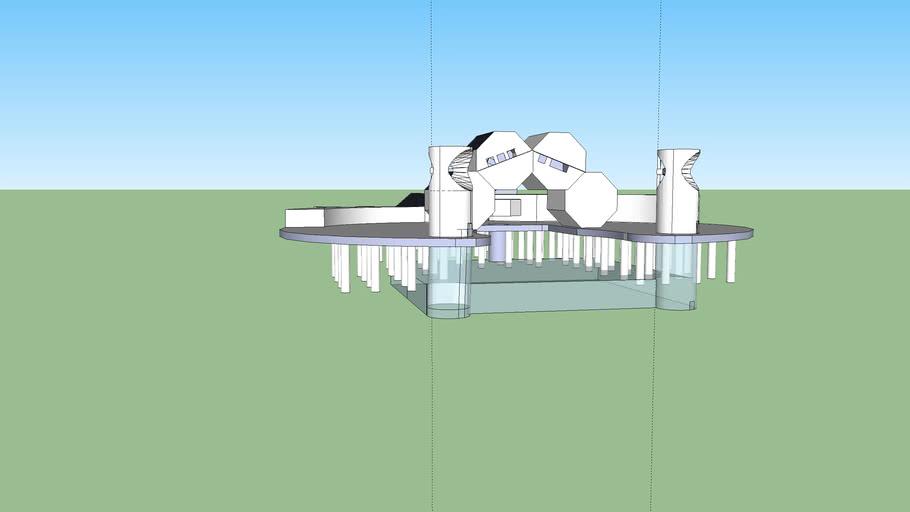 Pier van Scheveningen ontwerp.