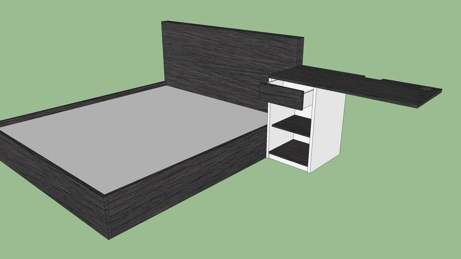 Bed+Workingtable By BasBas