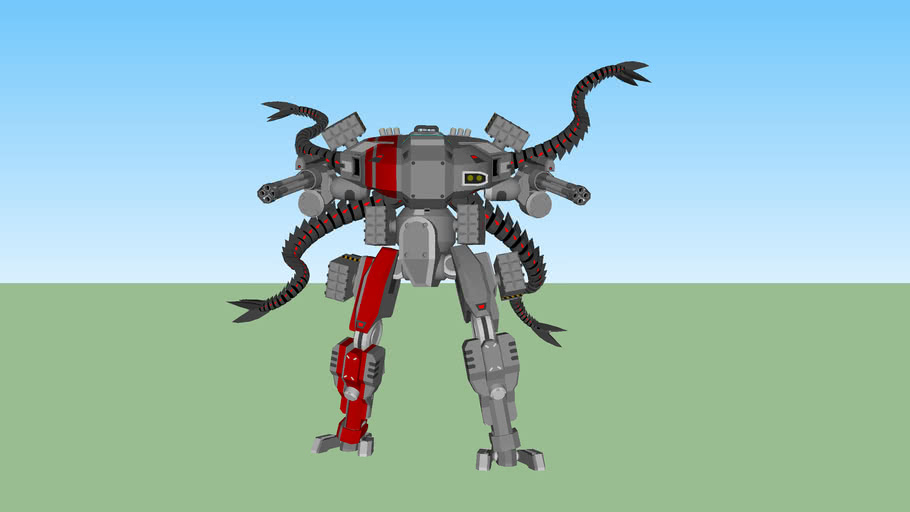 Robot Suit with Doc Ock Tentacles