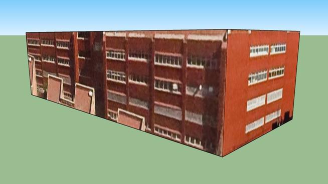 E.S.T-42 Edificio en Ciudad de México, DF, México