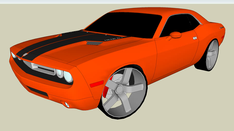 Modified Dodge Challenger