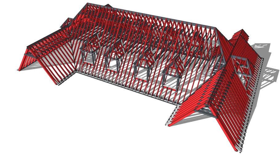 BiMUp 5D - Timber Roof 02