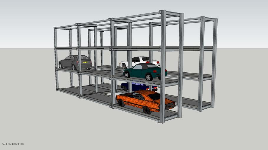 Multi-storey parking
