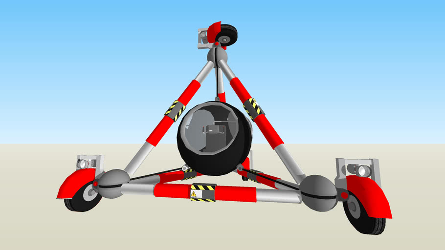 VTTT - Vehículo Todoterreno Tetraedro.
