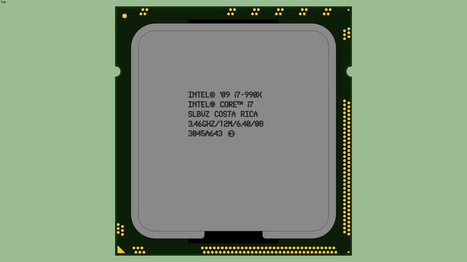 Intel® Core™ i7-990X Extreme Edition (SLBVZ)