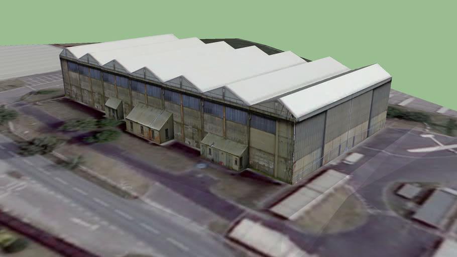 A Type Hangar, Upavon Airfield, Wiltshire