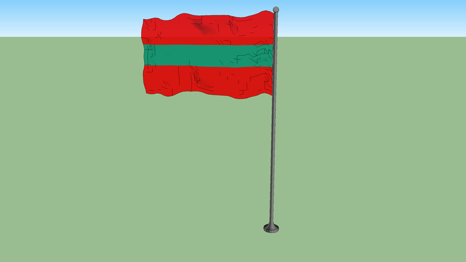 Flag of Transnistria (state)