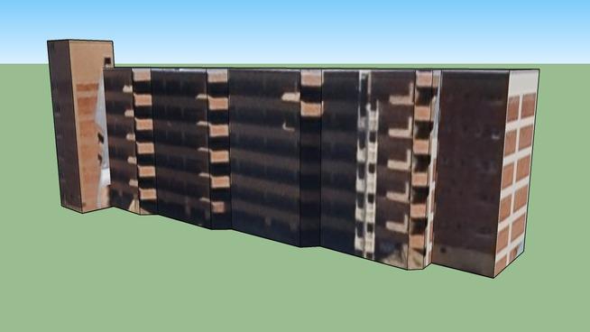 Construção em Bloemfontein, South Africa