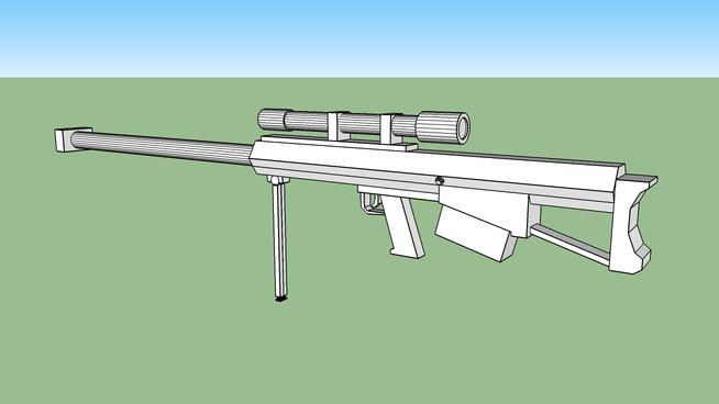 反器材狙击枪