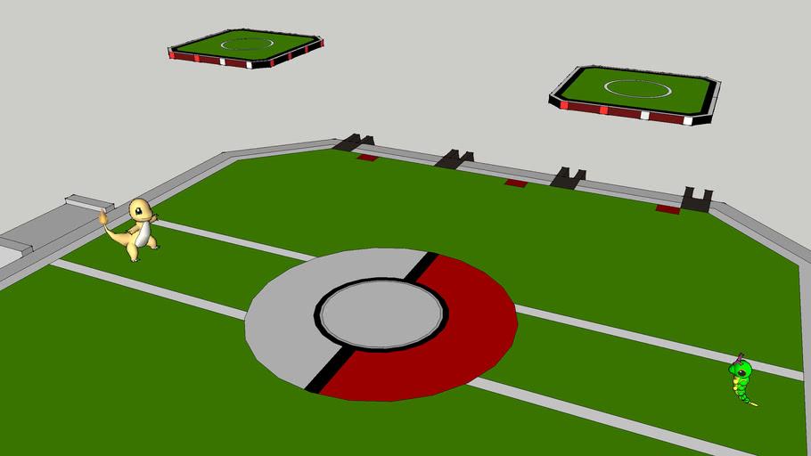 Pokemon Stadium Battle - Charmander vs Caterpie
