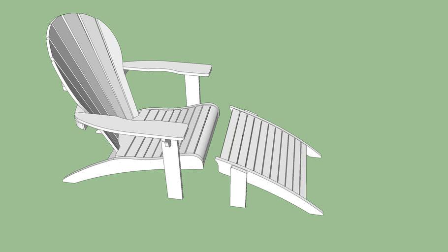 Adeli - Cadeira + Peseira (branca)
