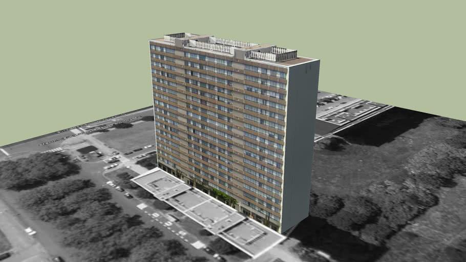 Residentie Reinaart 2, Antwerpen Linkeroever