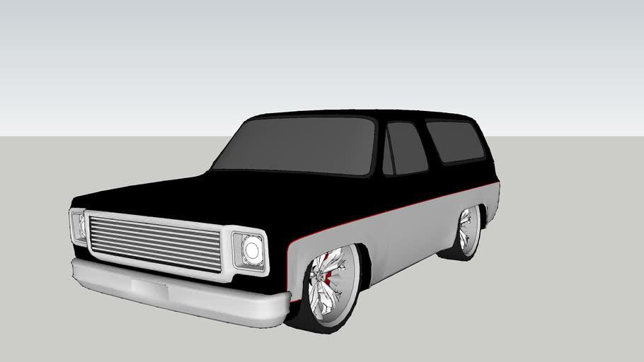 COMPLETLY Shaved Chevrolet Blazer 2.0