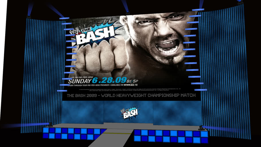WWE The Bash concept 2