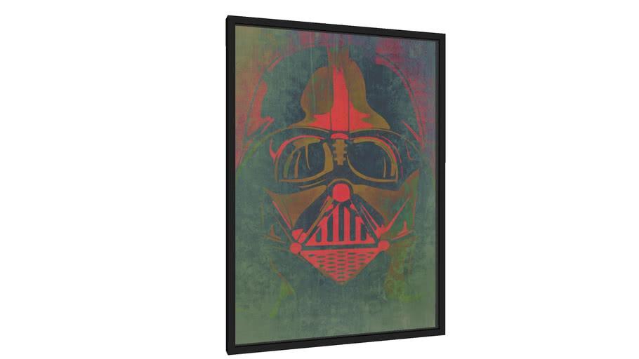 Quadro Vader Style - Galeria9, por leandrojsj
