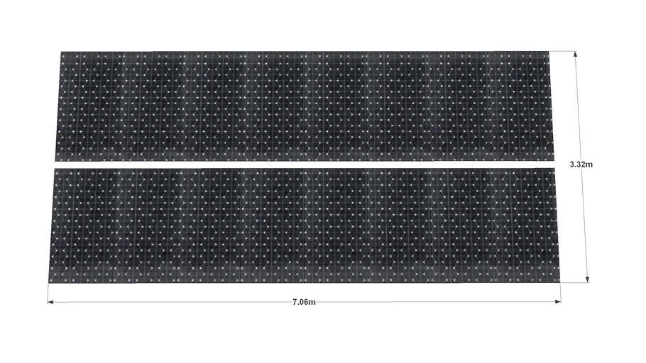 16 x 240 Sanyo HIT Wp panels