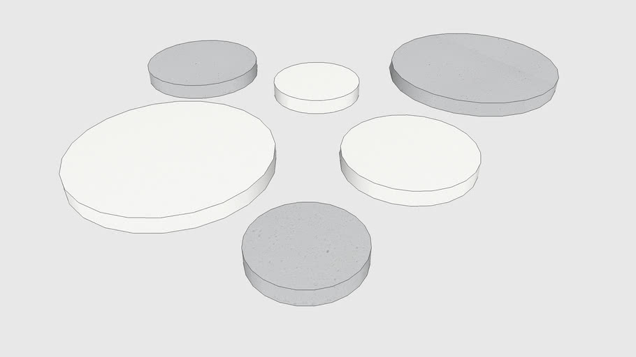 Skum Acoustics - Cirkel - Basotect circular panel