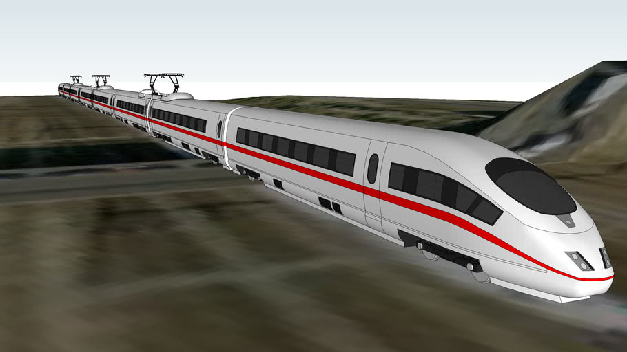 High Speed Train in Paris