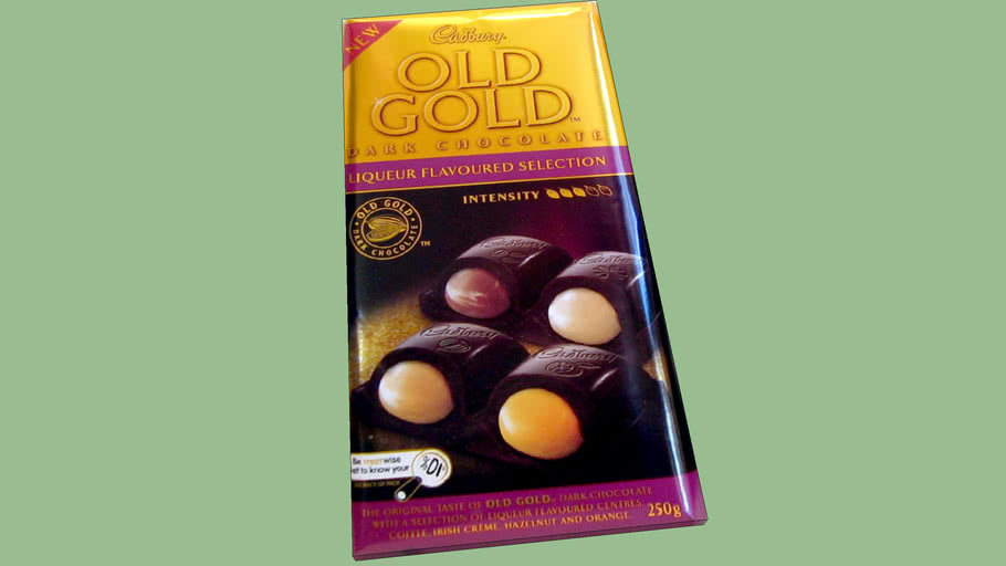 Cadbury Old Gold Liqueur Flavoured Selection