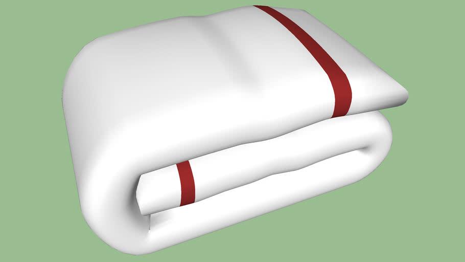 Cobertor dobrado