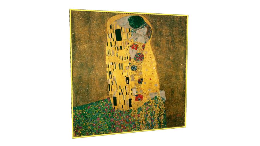 Klimt The Kiss Painting
