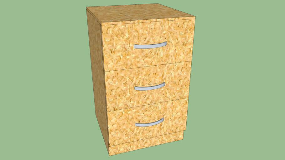 Light Bedside Cabinet