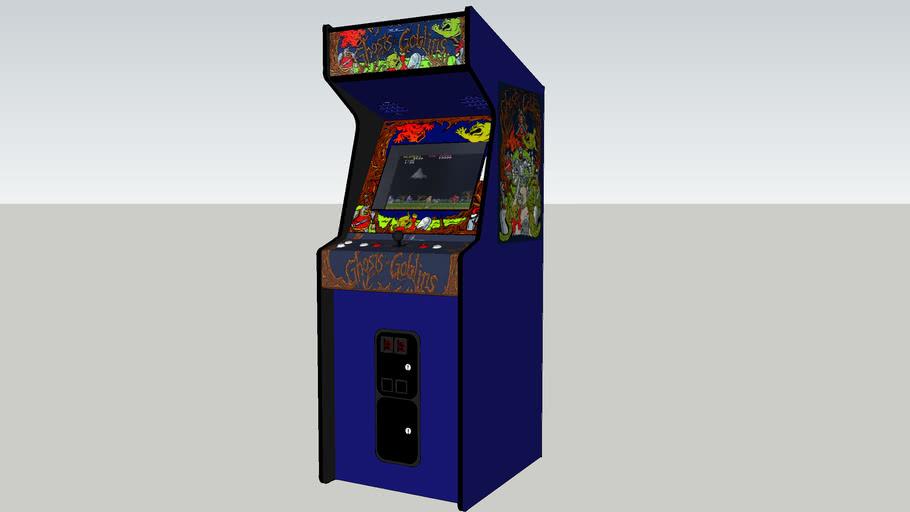 Ghosts n' Goblins arcade game