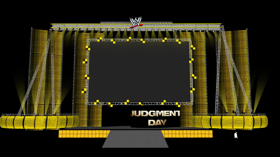 WWE Judgment Day 2009 in HD! My BEST Model Yet