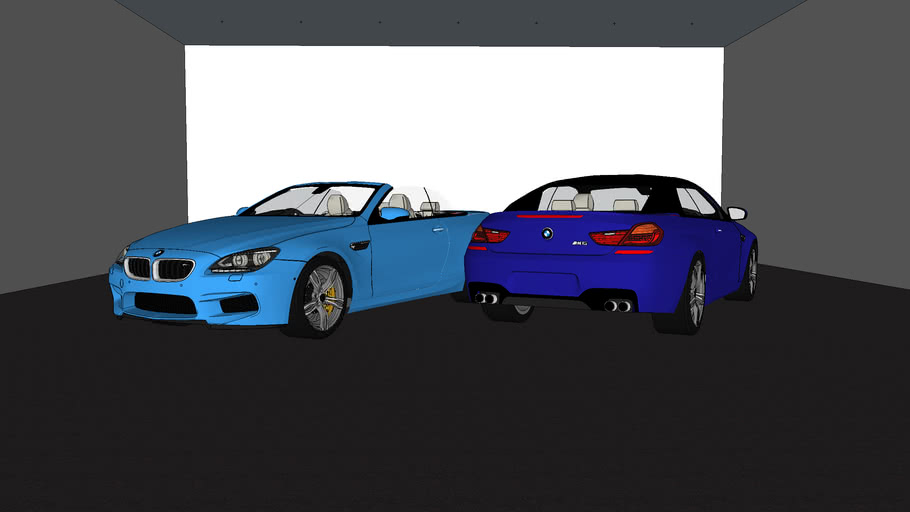 BMW M6 Convertible Open/Closed Top
