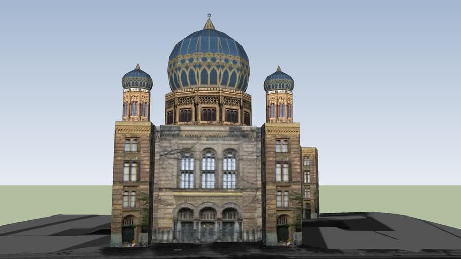 Neue Synagoge (בית הכנסת החדש)