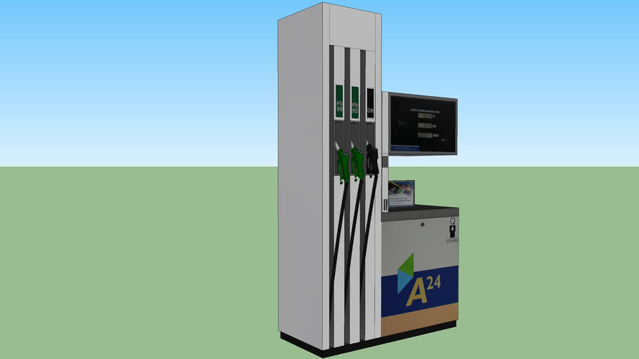 NESTE Dystrybutor paliwa / NESTE Fuel distributor
