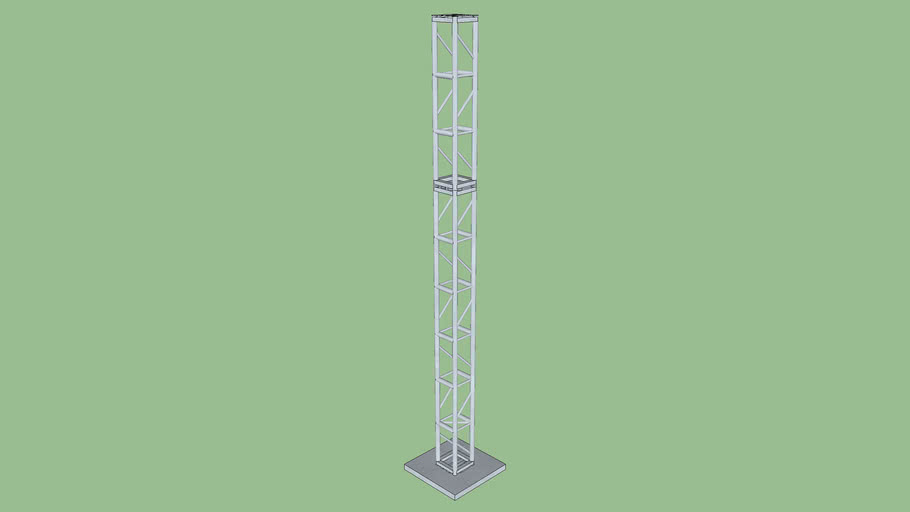 """Truss - Tower with Base 12""""x15'"""