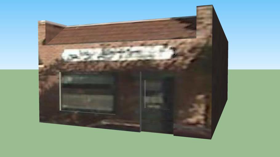 Building on 700 Block of Main Street, Pella Iowa
