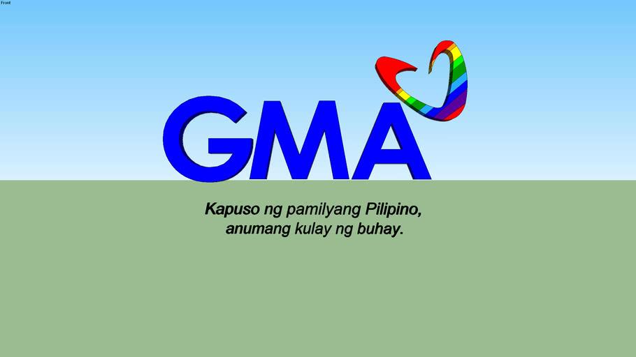 GMA Network 2002 Logo with slogan