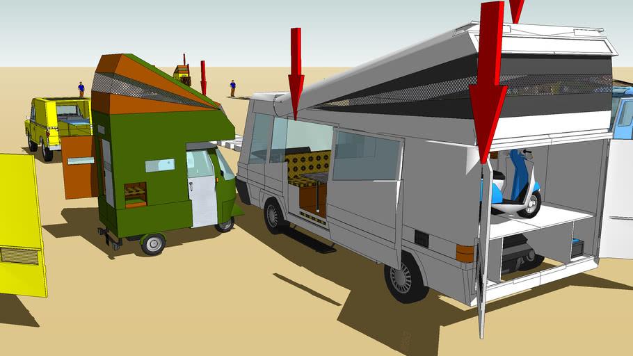 popout camper props