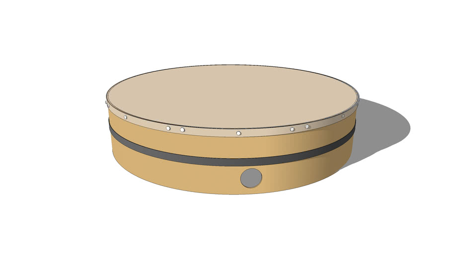 Tambourine Traditionnel [Bendir]