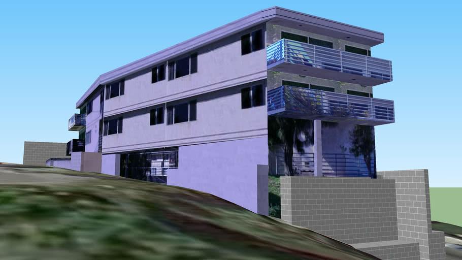 Quadplex at 750 hamilton, San Pedro Ca.