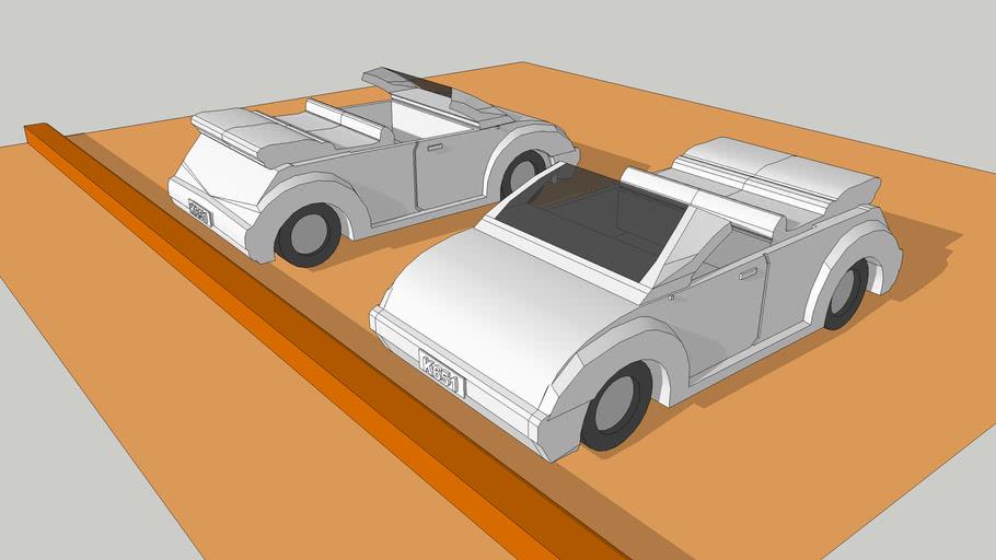 Low Polygon Modeling Car