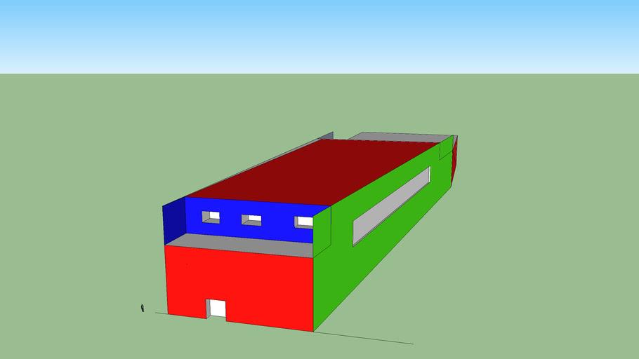 Recreation center model 2