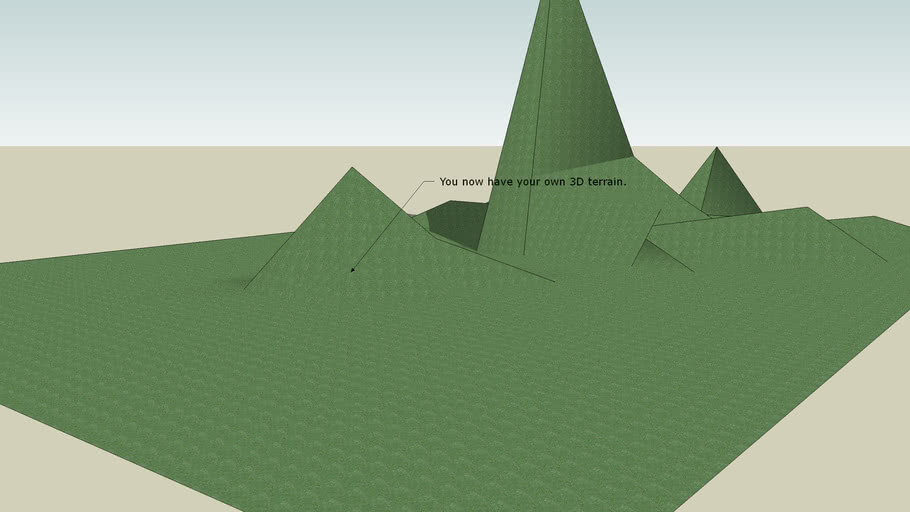 3D Terrain Tutorial (Avncd.)