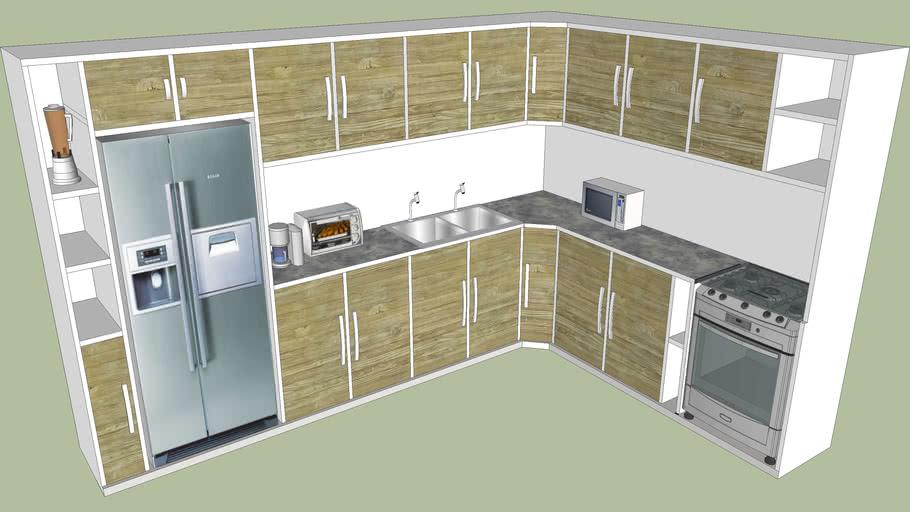 Cozinha Modular Completa