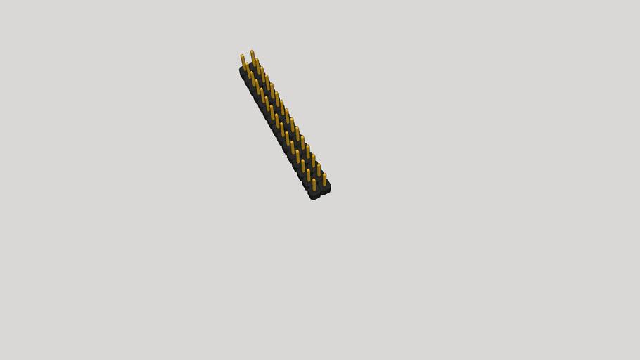 GOLD PIN 2X15