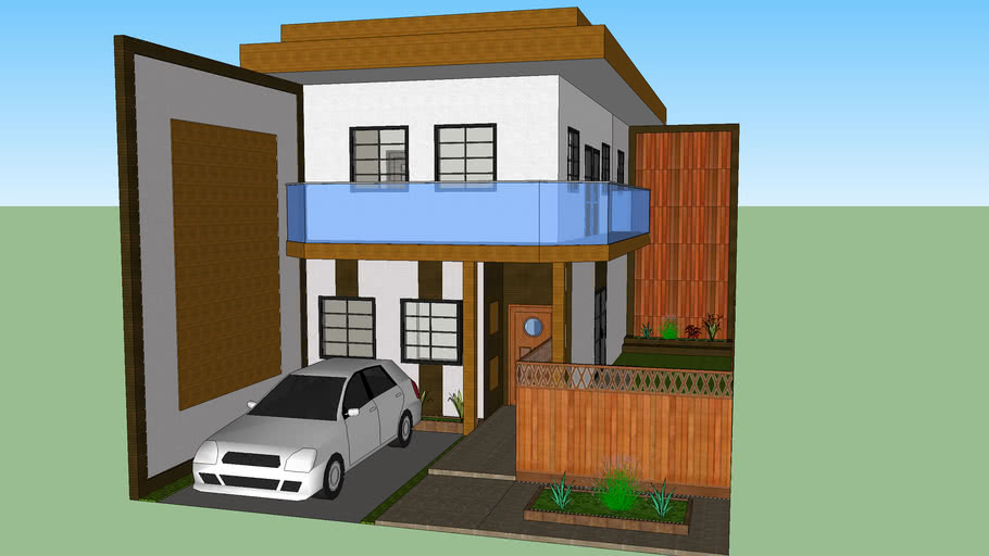 Modern Small House 2 Bedroom 5x10 M 3d Warehouse