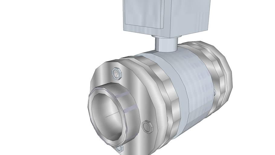 "flow meter 2,5"" / 63,5 mm L=185 met Pin"