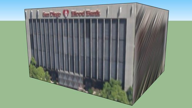 San Diego Blood Bank Building 440 Upas Street